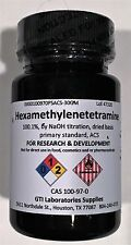 Hexamethylenetetramine, 100.1% by NaOH titrn dried basis primary standard AC 30g