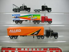 AF265-0,5# 4x Wiking H0 US-Truck: Lack/Meisterpreis+Allied+24 hours towing.. TOP
