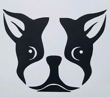 Boston Terrier Decal/Sticker Great for Truck/Car/Window ***AVAILABLE 20 COLORS