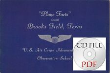 CD File  Plane Facts about Brooks Field Texas Air Corps Observation School O-47