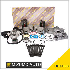 Fit 90-93 Honda Accord 2.2 F22A1 F22A4 Master Overhaul Engine Rebuilding Kit