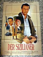 DER SIZILIANER * CHRISTOPHER LAMBERT - A1-Filmposter - German 1-Sheet CASARO