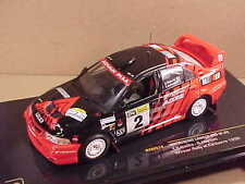 Ixo 1/43 Diecast Mitsubishi Lancer EVO VI, Winner 1999 Raly Canberra, #2 #RAM514