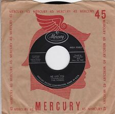 """The Ivories """"Me And You"""" & """"I'm In Love"""" 1957 Doo Wop Looks VG++ Plays NM"""