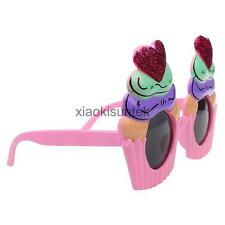 Glitter Cupcake Sunglasses Glasses Costume Party Hen Stag Night Funny Gift