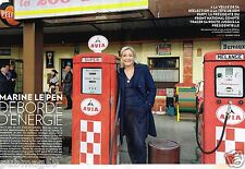 Coupure de Presse Clipping 2014 (4 pages)  Marine Le pen