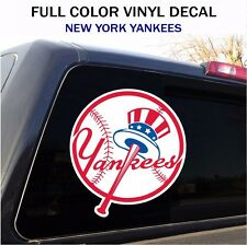 "New York Yankees Window Decal Graphic Sticker Car Truck SUV - 12"" wide"