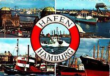 Hafen Hamburg , Ansichtskarte