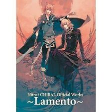 Nitro plus CHiRAL Lamento BEYOND THE VOID Official Works Fan Book Free Shipping