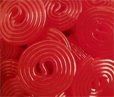Broadway Red Strawberry Licorice Wheels - 4.4 POUNDS - Bulk Candy FREE SHIPPING