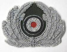 German Heer Army Officers Private Purchase Aluminium Bullion cap hat Wreath WW2