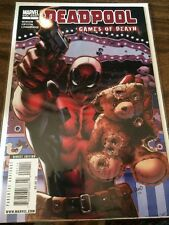 Deadpool Games of Death One-Shot Marvel Comics Comic Book NM