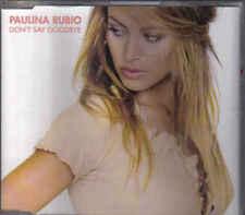 Paulina Rubio-Dont Say Goodbye cd maxi single