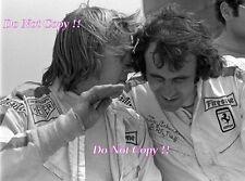 Ronnie Peterson & Tim Schenken Ferrari WSPC Portrait 1972 Photograph