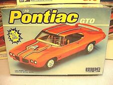 MPC/ERTL 1970 PONTIAC GTO #6281 AMT 1988 ISSUE 1/25 FACTORY SEALED MODEL KIT