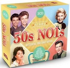 STARS OF 50S NO.1S feat. DORIS DAY, FRANK SINATRA, DEAN MARTIN u.a. 3 CD NEW+