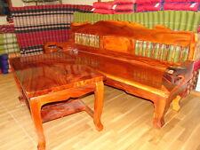 Bank & Tisch aus Teakholz  (Sitzhöhe ca. 40 cm)