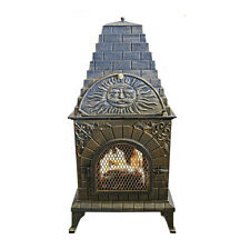 LARGE Mexican Style Cast Iron Outdoor Pizza Oven BBQ/Chimeneas Fireplace 70kg