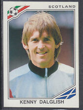 Panini - Mexico 86 World Cup - # 341 Kenny Dalglish - Scotland