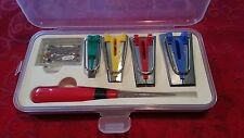 6 pc Bias Tape Binder Maker Set Sewing ,Quilting Bernina, Viking, Janome, Singer