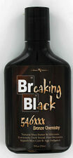 2 bottles Hoss Sauce Breaking Black Tanning Lotion with 546xxx Bronzing. 9oz NEW