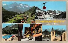 B52605 Champery cable train   france