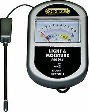 HYDROPONICS DIRT SOIL AND LIGHT BALANCE WATERING MOISTURE METER READER PLANTS