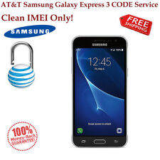 AT&T GOPHONE SAMSUNG GALAXY PRIME AND EXPRESS 3 Unlock CODE Service Clean IMEI