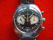 Vintage Very Rare Old Swiss Made Wrist-Watch Chronogtaph ZENTRA Cal.Valjoux 7734