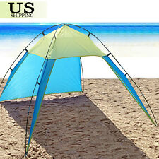 UV Sun Shade Shelter Triangle Beach Tent Canopy Portable Picnic Outdoor Camping