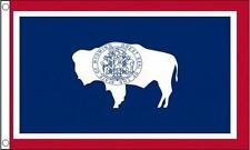 NEW 5Ft x 3Ft 5'x3' FLAG WYOMING AMERICA STATE USA
