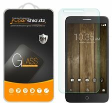 3X Supershieldz Tempered Glass Screen Protector Saver For Alcatel Pop 4 Plus