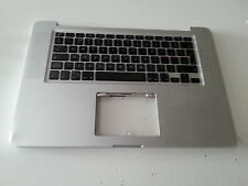 "Apple Macbook Pro 15"" A1286 2008 2009 UK Keyboard Palmrest 613-8239-05 a00  -926"