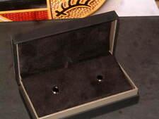 PORSCHE DESIGN P'3400 STERLING SILVER CUFFLINKS. NEW IN BOX WITH LITERATURE!!