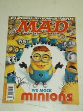 MAD #534 AUGUST 2015 UK MAGAZINE MINIONS AVENGERS RAY DONOVAN COSPLAY