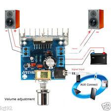 AC/DC 12V TDA7297 dual 2x15W Digital Audio Amplifier DIY Kit Dual-Channel Module