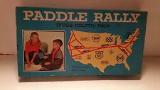 Vintage 1964 Route 66 Paddle Rally Board Game Cross Country Race Whitman Complet