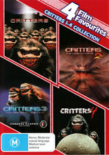 Critters Complete Collection (Critters 1 - 4) (4 Film Favs  - DVD - NEW Region 4