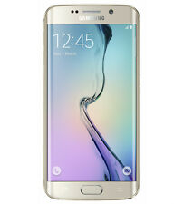 Samsung Galaxy S6 Edge 64 GB - Gold - Smartphone IMPORTED + FREE TEMPERED GLASS