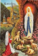 BF40560 lourdes painting   vierges virgin holly lady
