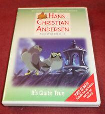 Hans Christian Andersen Animated Classics RARE DVD It's Quite True