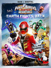Power Rangers Super Megaforce: Earth Fights Back (DVD, 2014) BRAND NEW *SEALED*