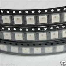 100Pcs DC5V WS2812B IC Built-in SMD 5050 RGB LED Addressable Full Color