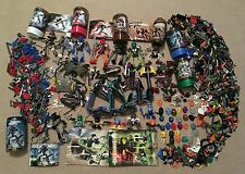 LEGO BIONICLE Mixed Lot MASSIVE PILE of Sets Parts Pieces Toa Rahi Nuva Metru ++