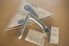 """Vintage NOS NEW NIB Italian 3ttt MOTUS 1"""" quill stem 130mm 26.0"""