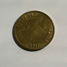 Chicago Worlds Fair / O'Hare Game Token 1992 Collectors Item
