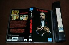 1972 The Godfather VHS PAL 1st Ed. PORTUGAL *ULTRARARE* UNIQUE Stunning ARTWORK