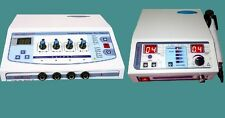 Combo Offer 2 machine in one sale Ultrasound1 mhz & Electrotherapy 4 channel HWE
