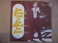 Tom Jones at the Talk of the Town, unique Australian cover, World Record Club
