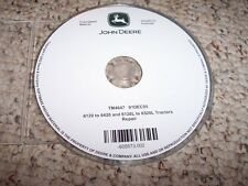 John Deere 6120 6220 6320 6420 L 6520L Shop Service Repair Manual CD TM4647